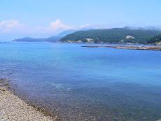 幾種もの魚が生息する美しい海が広がる大月町