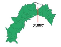 「銀不老豆」の唯一の産地、大豊町